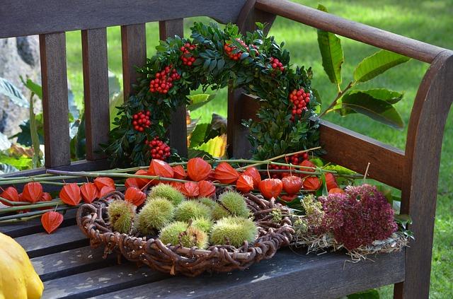 Natürliche Dekoration im Herbst  Sweet Sixty